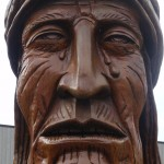 Sequoyah Sculpture