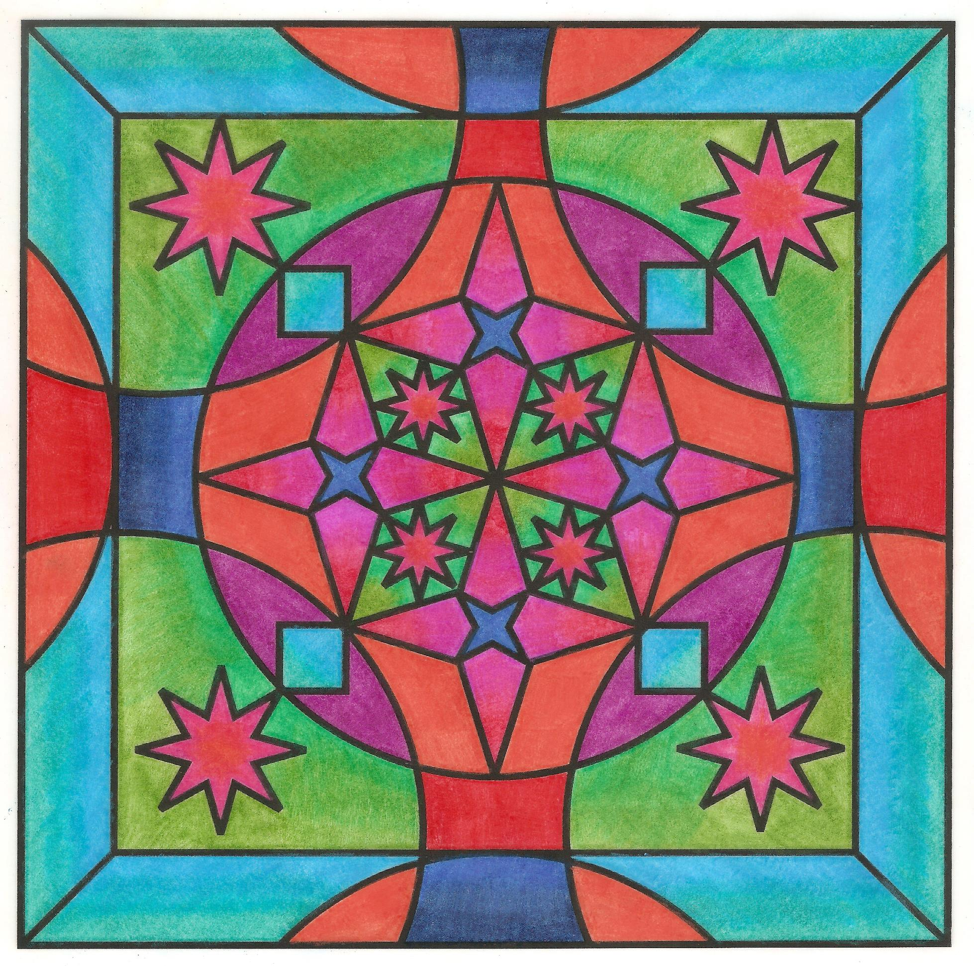 Kaleidoscope Colored