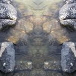 Mirrored Rocks 5