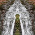Mirrored Waterfall